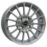 Tech Line 406 5.5x14/4x108 ET24 D65.1 Silver