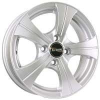 Tech Line 410 5.5x14/4x100 ET49 D56.6 Silver