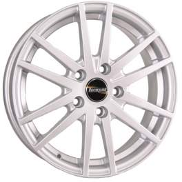 Tech Line 435 5.5x14/4x100 ET43 D60.1 Silver