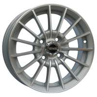 Tech Line 532 6x15/4x108 ET45 D63.4 Silver
