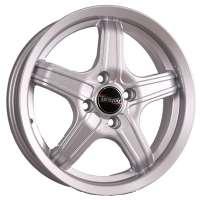 Tech Line 536 6x15/5x105 ET39 D56.6 Silver