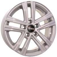Tech Line 545 6x15/5x114.3 ET39 D66.1 Silver