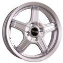 Tech Line 636 6.5x16/5x105 ET39 D56.6 Silver