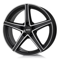 Alutec Raptr 8x18/5x112 ET34 D70.1 Racing black front polished