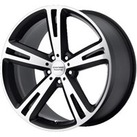 American Racing AR885 8.5x20/5x112 ET38 D72.62 Black/Machined