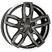 ATS Temperament 8.5x18/5x127 ET40 D71.6 Blizzard Grey Lip Polished