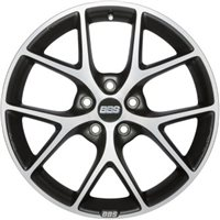 BBS SR 8x17/5x120 ET30 D72.5 Vulcano grey diamond cut