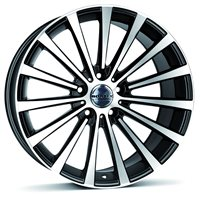 Borbet BLX 8,5x18/5x112 ET30 D72,5 Black polished matt