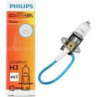 Галогеновая автолампа PHILIPS H3 Premium, 55W (12336PRC1)
