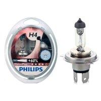 Галогеновая автолампа PHILIPS Н4 VisionPlus, 60/55W (12342VPS2)