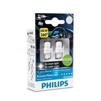 Светодиодная автолампа PHILIPS W5W LED 8000K (12799X2)