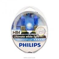 Галогеновая автолампа PHILIPS HB4, 5000K, 55W (9006DVS2)