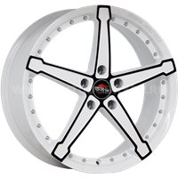 YOKATTA MODEL-10 6.5x16/5x112 ET33 D57.1 w+b