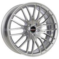 Borbet CW4/5 8x18/5x108 ET45 D72.5 Sterling Silver