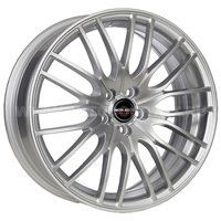 Borbet CW4/5 8x18/5x112 ET48 D72.5 Sterling Silver