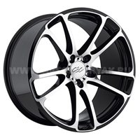 CEC C 882 8.5x20/5x112 ET25 D66.6 Anthracite/Machined