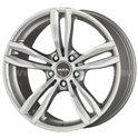 MAK Luft 7.5x18/5x120 ET45 D72.6 Silver