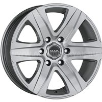 MAK Stone6 T 8.5x18/5x127 ET35 D71.6 Silver