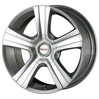 MAK Strada 7.5x17/5x150 ET35 D110.2 Hyper Silver