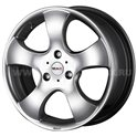 MAK STR Fighter 6.5x15/3x112 ET28 D57.1 Hyper Silver