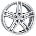 Rial Bavaro 6.5x16/5x112 ET50 D66.5 Polar Silver
