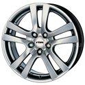 Rial Como 7.5x17/5x110 ET35 D65.1 Sterling Silver