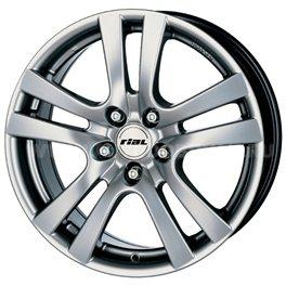 Rial Como 7x15/5x110 ET38 D65.1 Sterling Silver