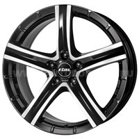 Rial Quinto 9x19/5x150 ET50 D110.1 Diamant black front polished
