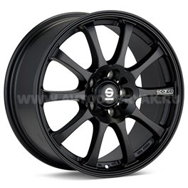 Sparco Drift 6.5x15/4x100 ET37 D63.3 Matt Black