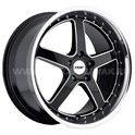 TSW Carthage 8x17/5x120 ET35 D76 Gloss Black