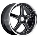 TSW Carthage 8x17/5x120 ET20 D76 Gloss Black