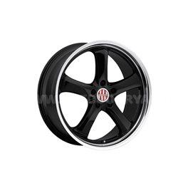 Victor Turismo 10x20/5x130 ET50 D71 Black mirror