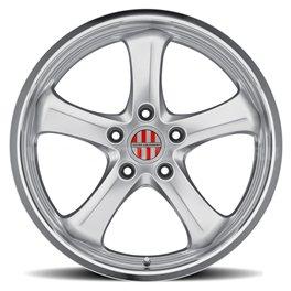 Victor Turismo 9.5x19/5x130 ET49 D71 Hyper Silver