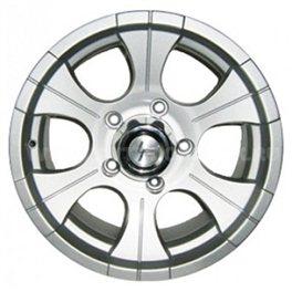 Works LF114 7.5x16/5x139.7 ET-13 D110 Silver
