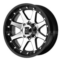XD Series XD798 9x20/6x114.3 ET18 D72.62 Black/Machined