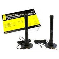 Антенна FM Триада-200 пассивная. магнитная.УКВ/FM/AM радиус приема 120км.длина 2.5м.