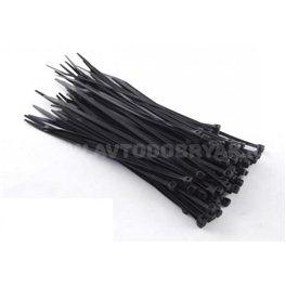 Стяжки 300*3.5, черные, 100шт/пак (ACV RM37-1107)
