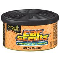 Ароматизатор воздуха на панель приборов CALIFORNIA Car Scents, банка Melon-Mango