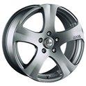 OZ 5 Star 7x16/5x114.3 ET40 D75 Metal Silver