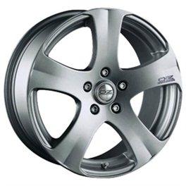 OZ 5 Star 7x17/5x114.3 ET45 D75 Metal Silver
