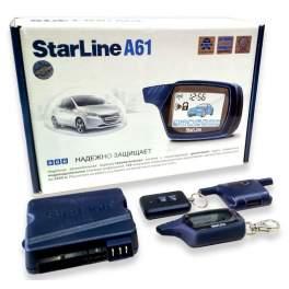 Сигнализация с обратной связью StarLine A61
