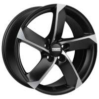 Fondmetal 7900 8x18/5x112 ET48 D57.1 Mat Black Polished