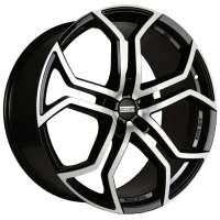 Fondmetal 9XR 9x20/5x127 ET45 D71,6 Black polished
