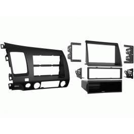 Переходная рамка HONDA Civic 06+, 2/1-DIN (Sedan 4D) (99-7871)