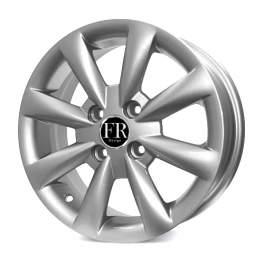 FR replica KI059 5.5x14/4x100 ET45 D54.1 Silver