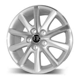 FR replica TY237 6.5x16/5x114.3 ET39 D60.1 Silver