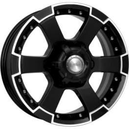 K&K М56 7x16/6x139.7 ET30 D106.1 Алмаз черный