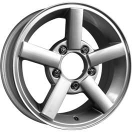 K&K Титан Азия-Авто 6.5x16/5x139.7 ET40 D98.5 Сильвер