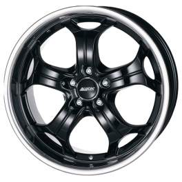 Alutec Boost 10.5x20/5x114.3 ET35 D76.1 Diamant black with stainless steel lip