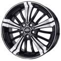 Alutec Ecstasy 7.5x17/5x108 ET47 D70.1 Diamant Black Polished